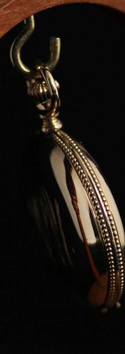 エルジン アンティーク懐中時計 5つのダイヤモンドを束ねる 【1900年頃】-P2300-15