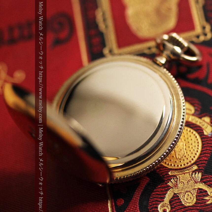 エルジン アンティーク懐中時計 5つのダイヤモンドを束ねる 【1900年頃】-P2300-19