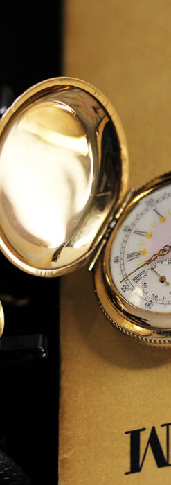 エルジン アンティーク懐中時計 5つのダイヤモンドを束ねる 【1900年頃】-P2300-6