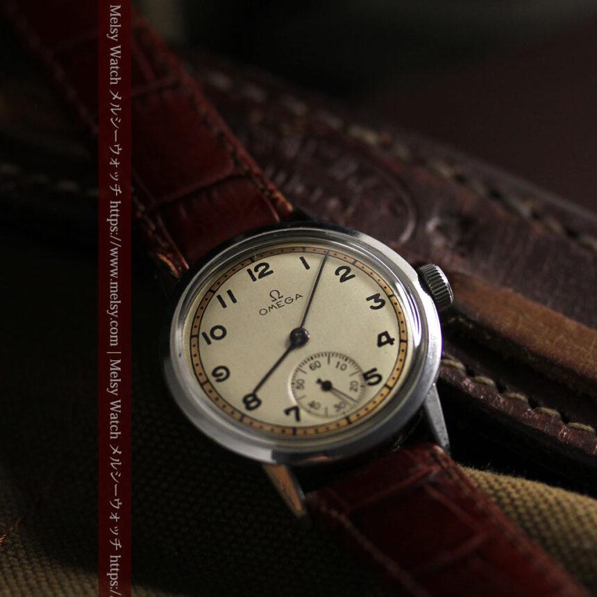 オメガ カジュアルでレトロなアンティーク腕時計 【1940年製】-W1522-1