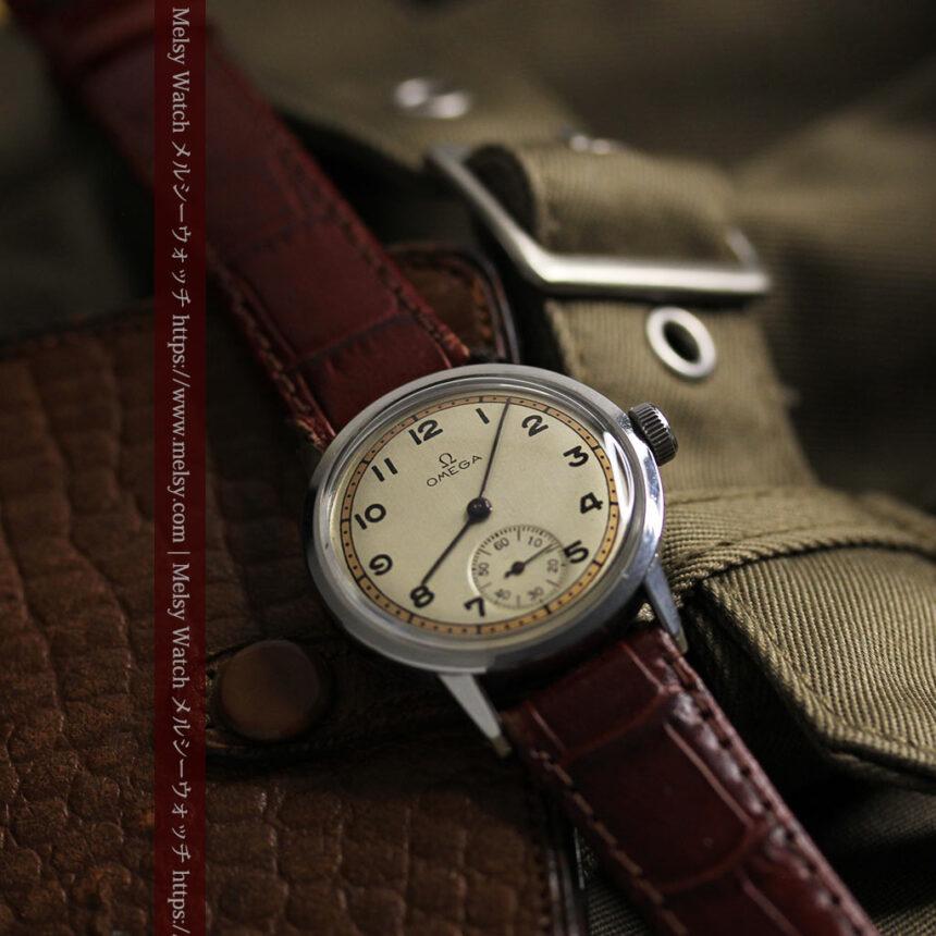 オメガ カジュアルでレトロなアンティーク腕時計 【1940年製】-W1522-11