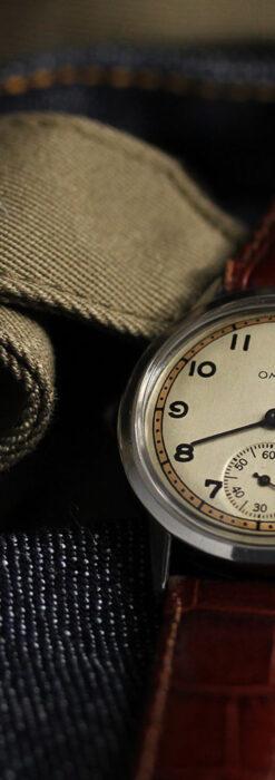 オメガ カジュアルでレトロなアンティーク腕時計 【1940年製】-W1522-12