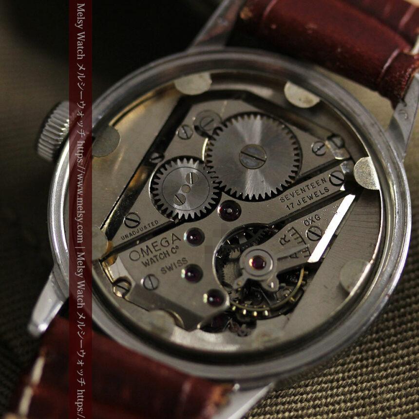 オメガ カジュアルでレトロなアンティーク腕時計 【1940年製】-W1522-17
