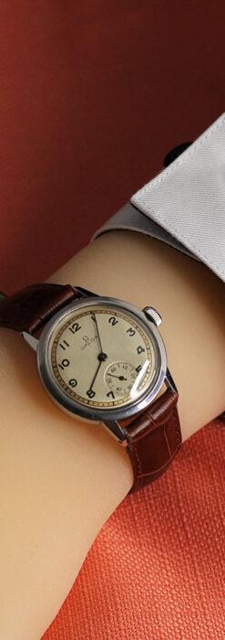 オメガ カジュアルでレトロなアンティーク腕時計 【1940年製】-W1522-18