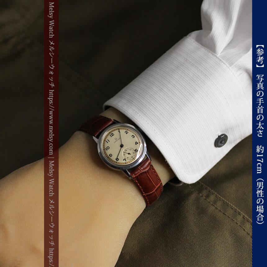 オメガ カジュアルでレトロなアンティーク腕時計 【1940年製】-W1522-19