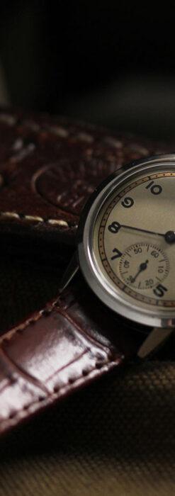 オメガ カジュアルでレトロなアンティーク腕時計 【1940年製】-W1522-2