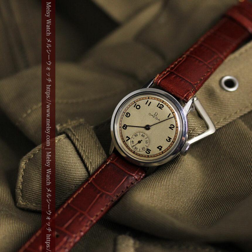 オメガ カジュアルでレトロなアンティーク腕時計 【1940年製】-W1522-6