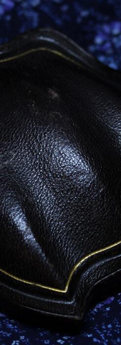 アンティークの品格と風格漂う18金ブローチとイヤリングのセット 【箱付き】-A0308-17
