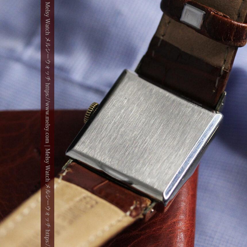グリュエン 際立つ鋭角の煌びやかなアンティーク腕時計 【1951年頃】-W1294-22