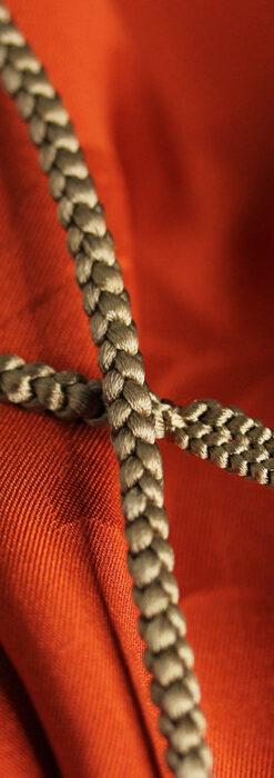 懐中時計用の絹製組み紐・時計紐【利休色】-CS4034-2