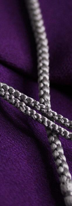 懐中時計用の絹製組み紐・時計紐【鈍色】-CS4041-2