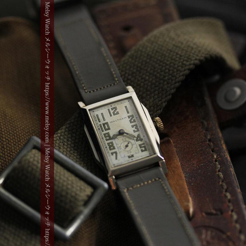 趣きある寂びの美しさ ウォルサムのアンティーク腕時計 【1930年頃】-W1531-1