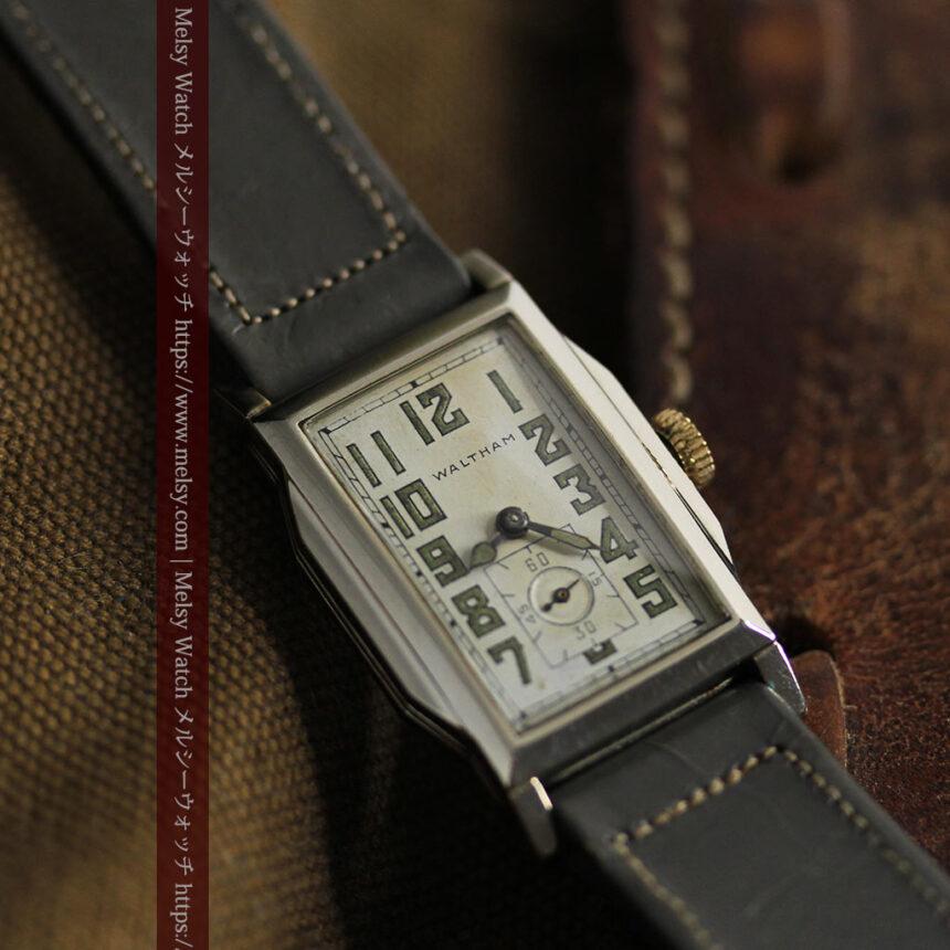 趣きある寂びの美しさ ウォルサムのアンティーク腕時計 【1930年頃】-W1531-10