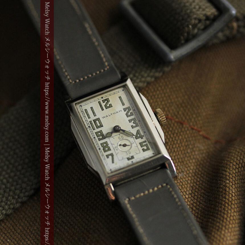 趣きある寂びの美しさ ウォルサムのアンティーク腕時計 【1930年頃】-W1531-11