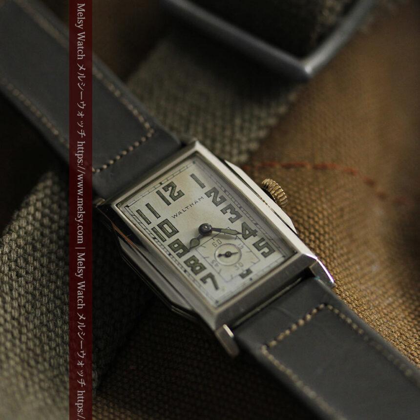 趣きある寂びの美しさ ウォルサムのアンティーク腕時計 【1930年頃】-W1531-12