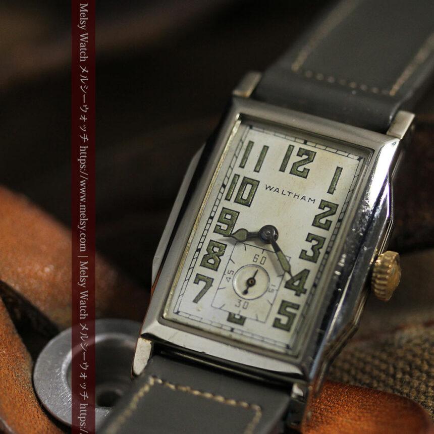 趣きある寂びの美しさ ウォルサムのアンティーク腕時計 【1930年頃】-W1531-13