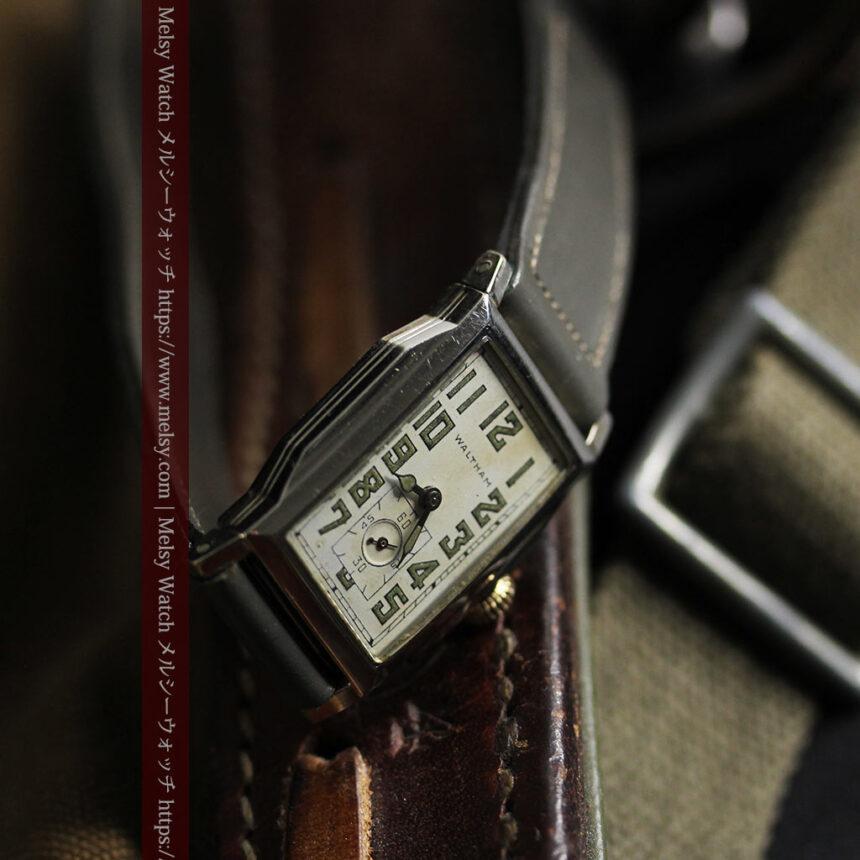 趣きある寂びの美しさ ウォルサムのアンティーク腕時計 【1930年頃】-W1531-17
