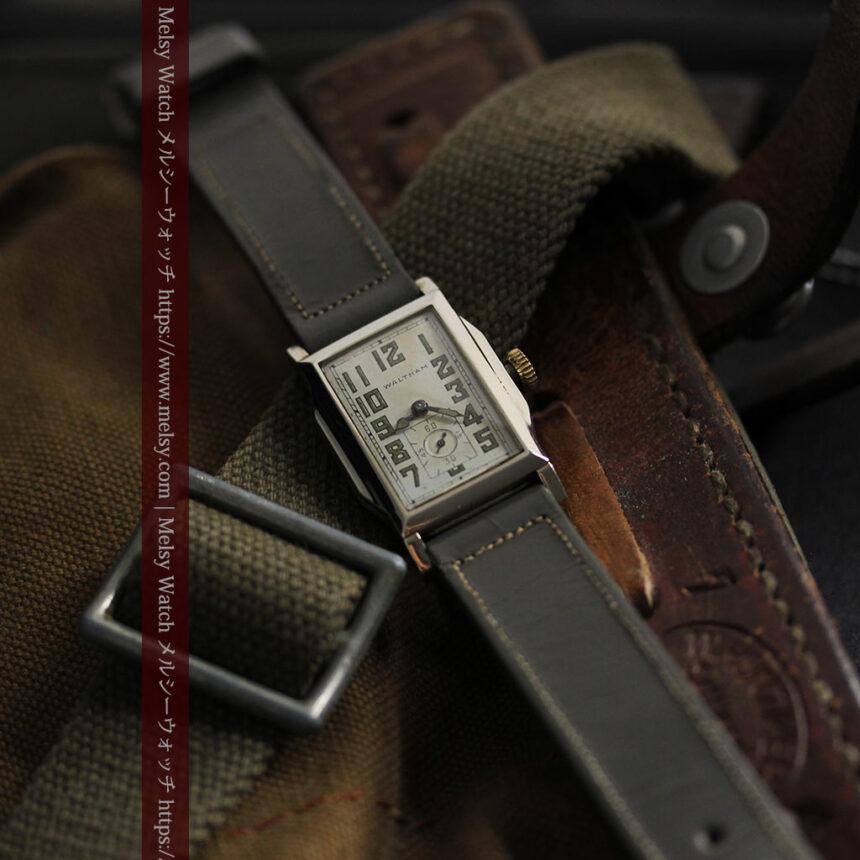 趣きある寂びの美しさ ウォルサムのアンティーク腕時計 【1930年頃】-W1531-2