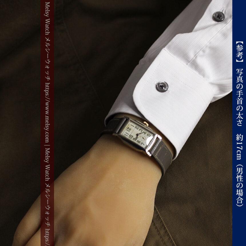 趣きある寂びの美しさ ウォルサムのアンティーク腕時計 【1930年頃】-W1531-23