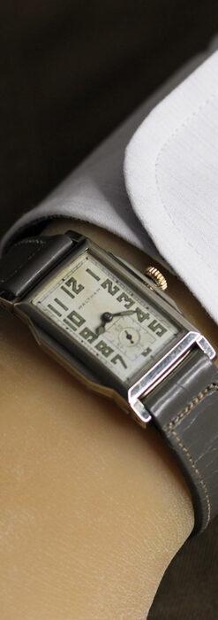 趣きある寂びの美しさ ウォルサムのアンティーク腕時計 【1930年頃】-W1531-24