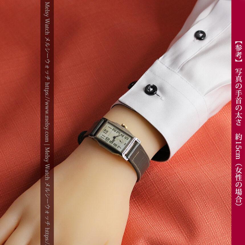 趣きある寂びの美しさ ウォルサムのアンティーク腕時計 【1930年頃】-W1531-25