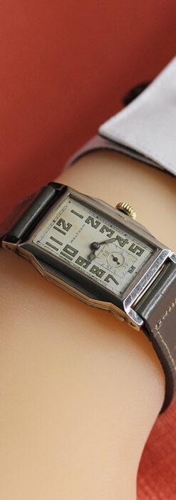 趣きある寂びの美しさ ウォルサムのアンティーク腕時計 【1930年頃】-W1531-26