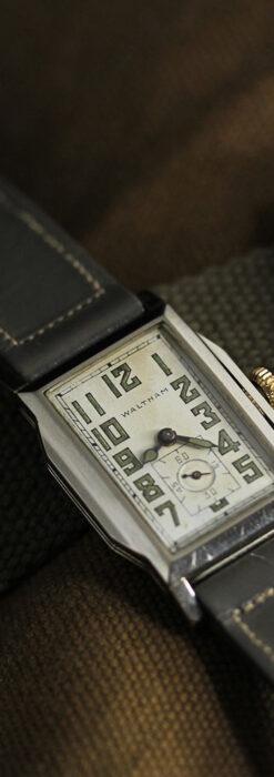趣きある寂びの美しさ ウォルサムのアンティーク腕時計 【1930年頃】-W1531-3