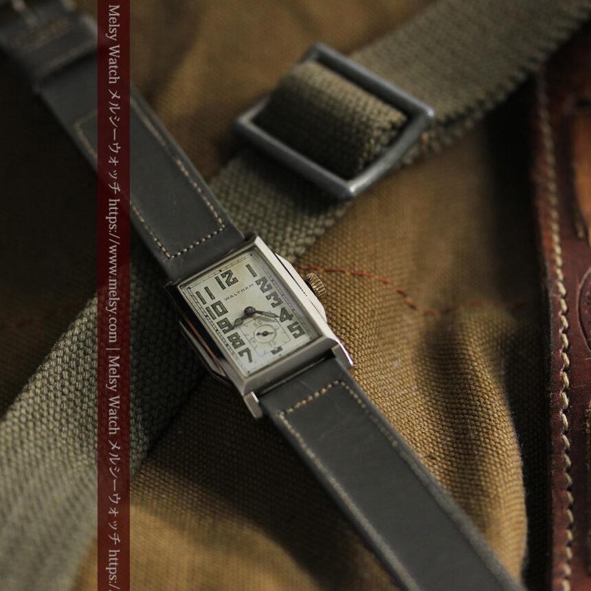 趣きある寂びの美しさ ウォルサムのアンティーク腕時計 【1930年頃】-W1531-4