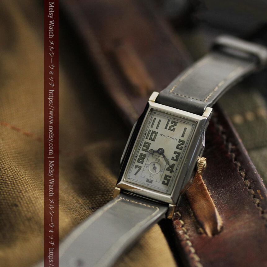 趣きある寂びの美しさ ウォルサムのアンティーク腕時計 【1930年頃】-W1531-5