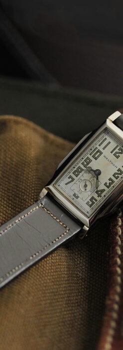 趣きある寂びの美しさ ウォルサムのアンティーク腕時計 【1930年頃】-W1531-6