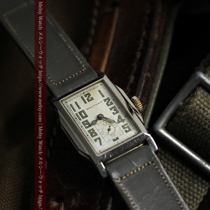 趣きある寂びの美しさ ウォルサムのアンティーク腕時計 【1930年頃】-W1531-9