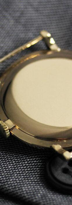 ベンソンの昭和レトロな金無垢アンティーク腕時計 【1969年頃】-W1532-14