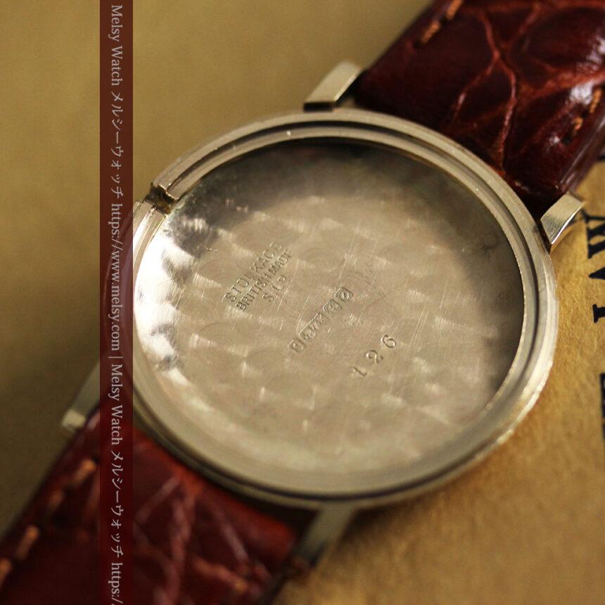 ベンソンの昭和レトロな金無垢アンティーク腕時計 【1969年頃】-W1532-15