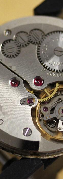 ベンソンの昭和レトロな金無垢アンティーク腕時計 【1969年頃】-W1532-16
