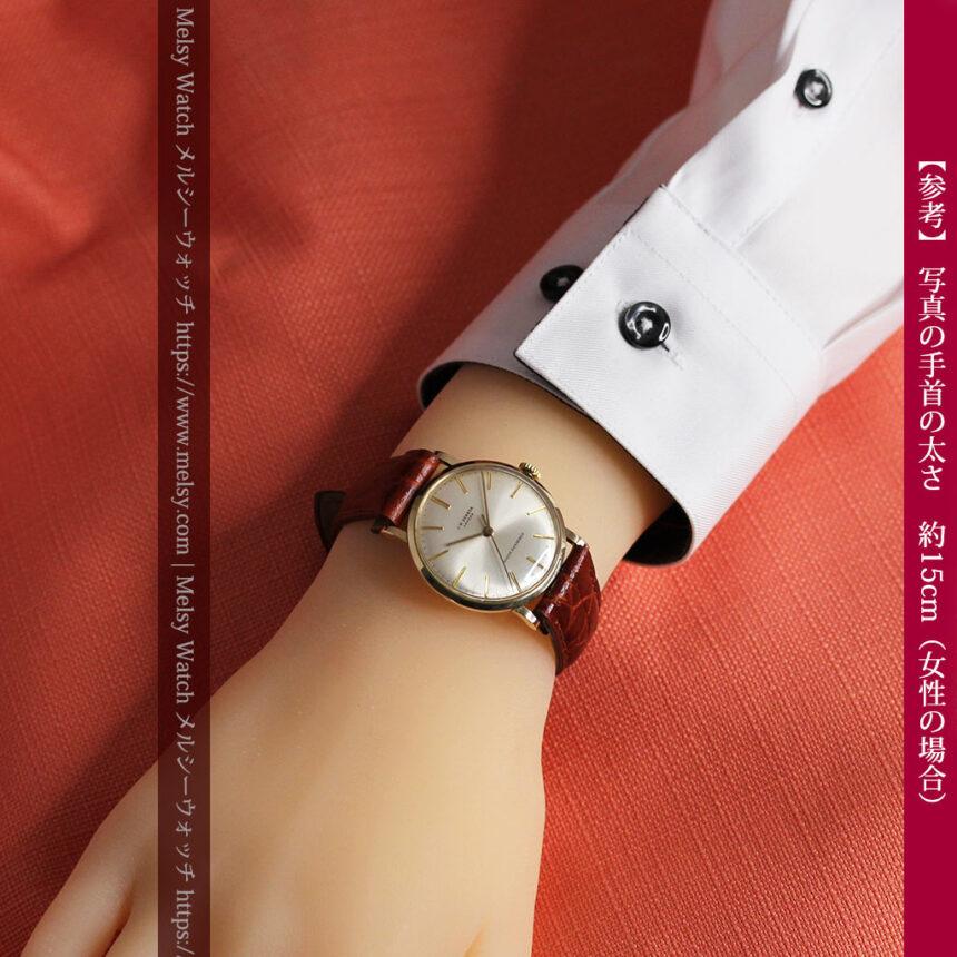 ベンソンの昭和レトロな金無垢アンティーク腕時計 【1969年頃】-W1532-22
