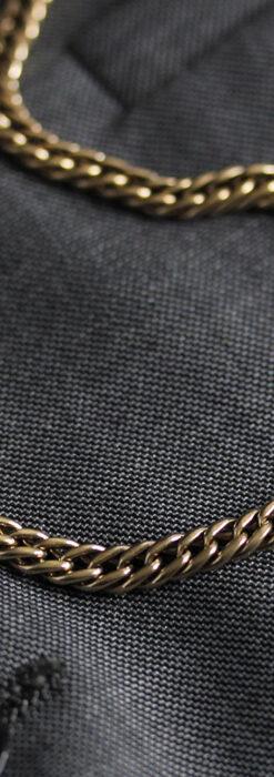 アンティーク懐中時計チェーン・鎖 【封蝋飾り付き】-C0496-8