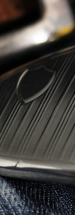 珍しく希少なオメガの五角形の銀無垢時計 【1904年製】-P2309-18
