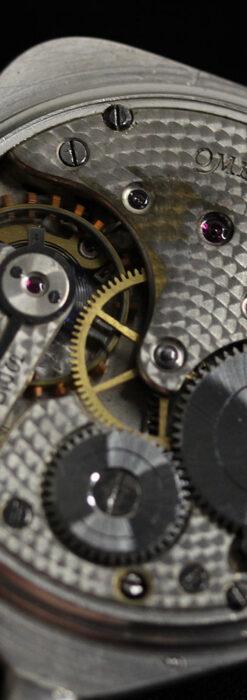 珍しく希少なオメガの五角形の銀無垢時計 【1904年製】-P2309-20