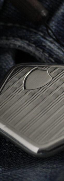 珍しく希少なオメガの五角形の銀無垢時計 【1904年製】-P2309-6