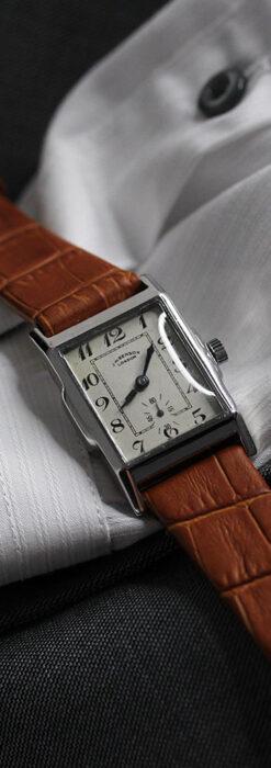 英国ベンソンの古風で愛らしいアンティーク腕時計 【1930年頃】-W1534-10