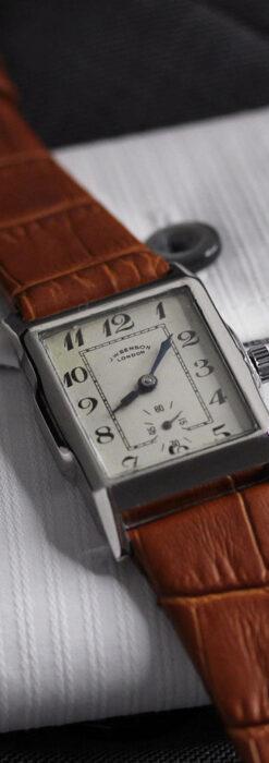 英国ベンソンの古風で愛らしいアンティーク腕時計 【1930年頃】-W1534-11