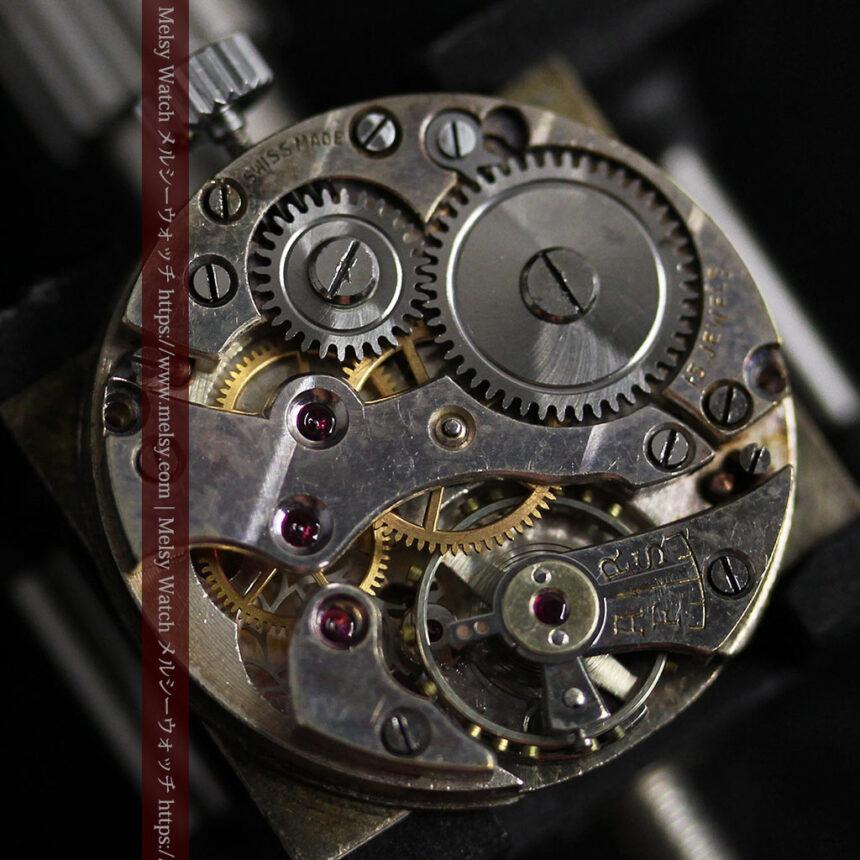 英国ベンソンの古風で愛らしいアンティーク腕時計 【1930年頃】-W1534-18