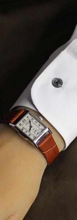 英国ベンソンの古風で愛らしいアンティーク腕時計 【1930年頃】-W1534-19