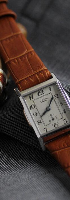 英国ベンソンの古風で愛らしいアンティーク腕時計 【1930年頃】-W1534-2