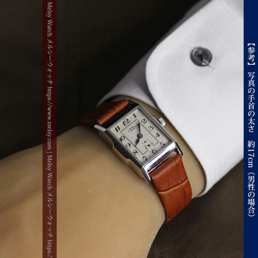 英国ベンソンの古風で愛らしいアンティーク腕時計 【1930年頃】-W1534-20