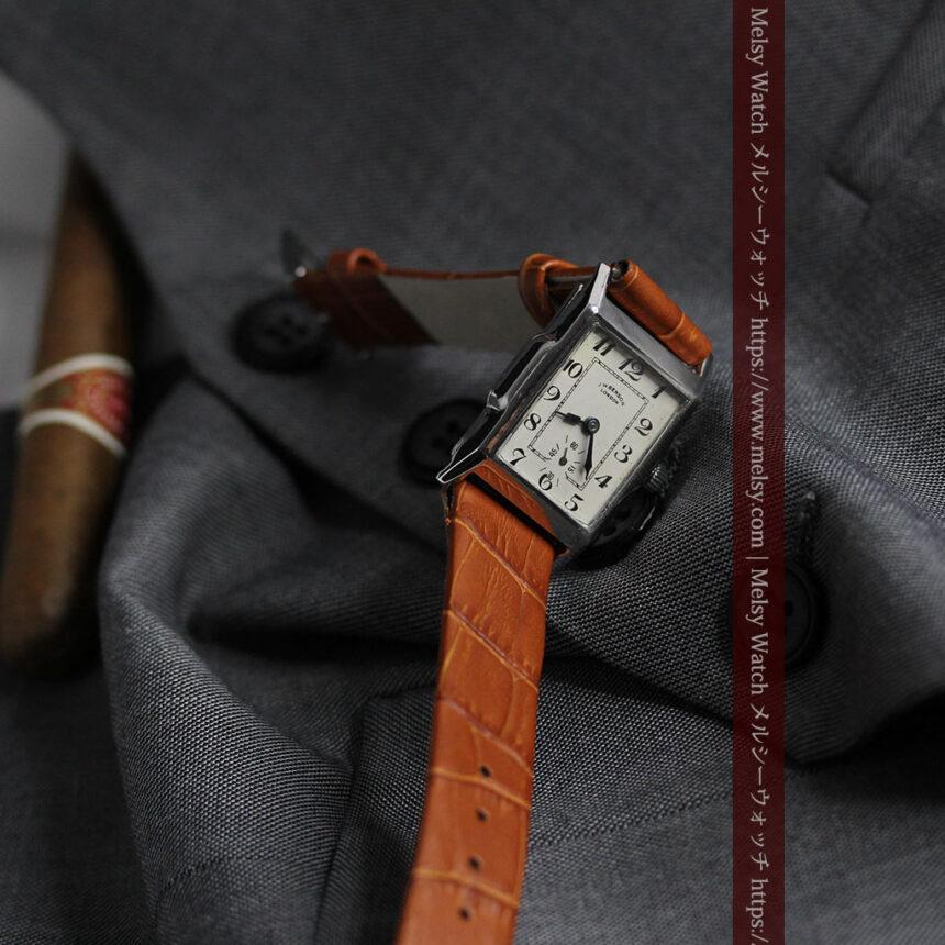 英国ベンソンの古風で愛らしいアンティーク腕時計 【1930年頃】-W1534-4