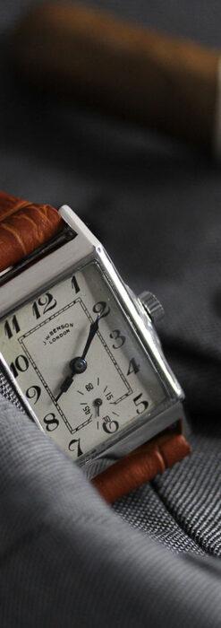 英国ベンソンの古風で愛らしいアンティーク腕時計 【1930年頃】-W1534-6