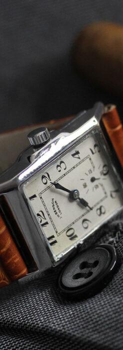 英国ベンソンの古風で愛らしいアンティーク腕時計 【1930年頃】-W1534-8
