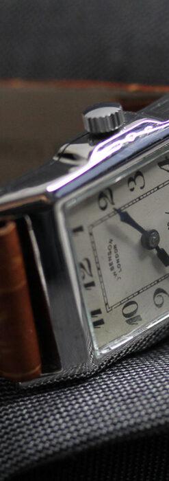 英国ベンソンの古風で愛らしいアンティーク腕時計 【1930年頃】-W1534-9