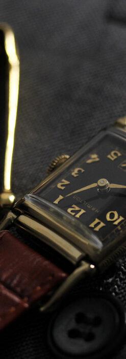 着け方を選んで楽しむ華麗なハミルトンのアンティーク腕時計 【1940年頃】-W1535-10